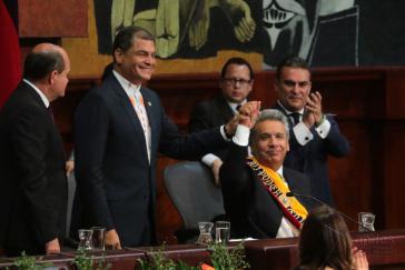 Amtsübergabe am 24. Mai 2017: Lenín Moreno tritt die Nachfolge von Rafael Correa als Präsident von Ecuador an