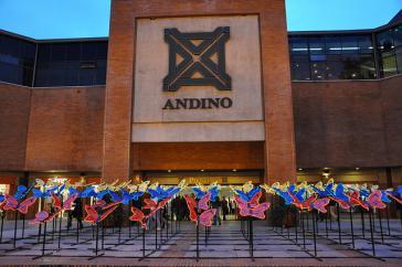 Einkaufszentrum Andino in Bogotá, Kolumbien