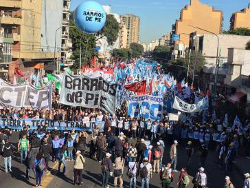 Argentiniens Präsident Macri ist mit einer breiten, massiven Protestwelle gegen die Politik seiner Regierung konfrontiert