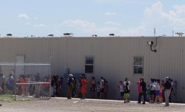 Im Haftzentrum von Artesia, New Mexico, USA