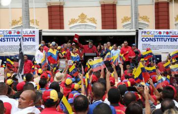Venezuelas Präsident Maduro hat am 23. Mai den Vorschlag zur Wahl der Mitglieder einer verfassunggebenden Versammlung vorgelegt