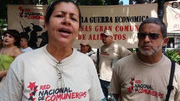 Amarelys Guzman, eine Sprecherin des Nationalen Netzwerkes der Kommunarden in Venezuela