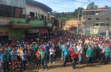 Bergarbeiter in Kolumbien streiken seit über einem Monat