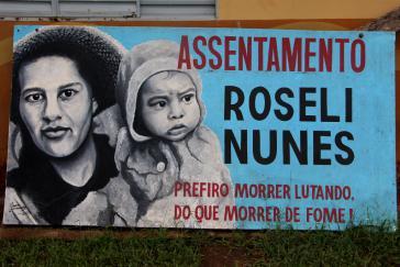 Akut bedroht: Die von Kleinbauern besetzten und bearbeiteten Ländereien (Assentamentos) in Brasilien