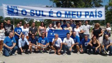 """""""Der Süden ist mein Land"""": Mitglieder der Separatisten-Bewegung Sur Libre in Brasilien"""