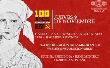 Bei dem internationalen Treffen in Bolivien war die Beteiligung der Frau an revolutionären Prozessen Thema