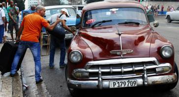 Sammeltaxi in Kubas Hauptstadt