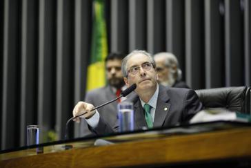Eduardo Cunha: Hier – im Juli 2015 – noch im Parlament, nun im Gefängnis