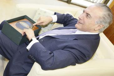 Welche Geschenke hat Michel Temer in Brasilien angenommen?