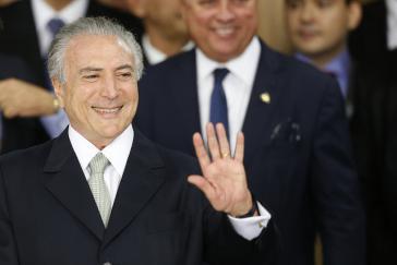De-facto-Präsident von Brasilien, Michel Temer