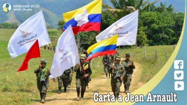 In einem offenen Brief wenden sich die Farc an Jean Arnault, den Repräsentanten des UN-Generalsekretärs und Sondergesandten für den Friedensprozess in Kolumbien