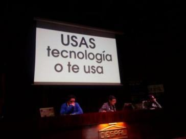 """Beim Treffen in der Hauptstadt von Ecuador, Quito: """"Nutzt du die Technologie oder benutzt sie dich"""""""