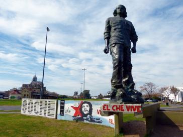 Das Che Guevara-Denkmal in Rosario, Argentinien