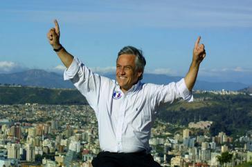 Will in Chile wieder nach oben: Sebastián Piñera