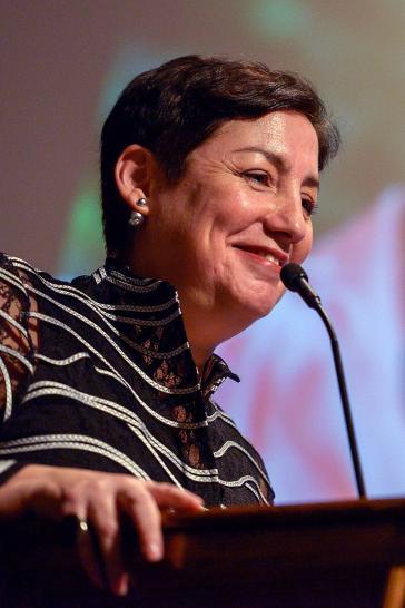 Linke Kandidatin Beatríz Sánchez in Chile