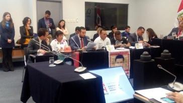 Eltern der 43 Verschwundenen aus Mexiko vor der CIDH