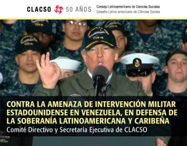 Der Lateinamerikanische Rat der Sozialwissenschaften bezieht Stellung gegen US-Intervention und Sanktionen