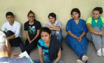 Inhaftierte Studierende in Honduras