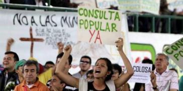 Aktuell haben 39 Gemeindebezirke landesweit Prozesse zur Volksabstimmung gegen den Bergbau und die Erdölförderung gestartet
