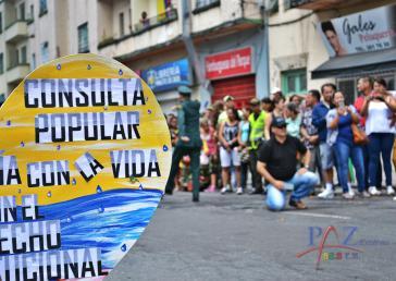 Die Bürger von Cajamarca in der kolumbianischen Provinz Tolima haben sich gegen den Abbau von Gold durch den Konzern AngloGold Ashanti ausgesprochen