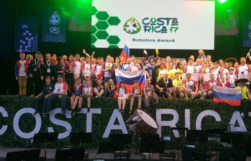 Teilnehmer des Wettbewerbs in Costa Rica