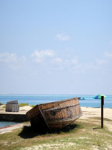 Kubanisches Flüchtlingsboot in den USA