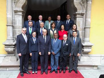 An dem Treffen in Lima, Peru, nahmen Vertreter von 17 lateinamerikanischen Regierungen und Kanada teil