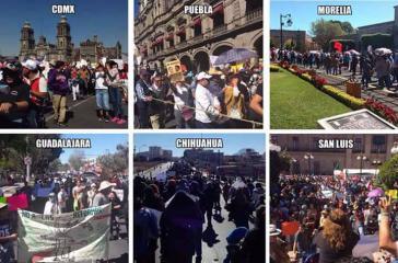 Seit Jahresbeginn reißen die Demonstrationen gegen die Preiserhöhungen und die Regierung in Mexiko nicht ab