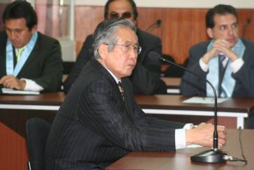 Die Staatsanwaltschaft hat Klage wegen mehrfachen Mordes gegen den Ex-Diktator Fujimori erhoben