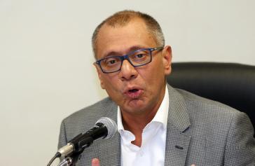 Vizepräsident von Ecuador, Jorge Glas