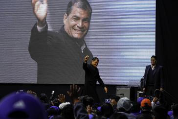 "Rafael Correa sagt Ecuador erst einmal ""Hasta luego"""