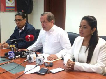 Rücktritte in Ecuador: Hernández, Patiño, Pabón