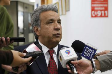 Kandidaten der Linken und des Regierungslagers in Ecuador: Lenín Moreno