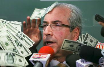 Wurde im April dieses Jahre zu 15 Jahren Haft verurteilt: Der frühere Vorsitzende des Abgeordnetenhauses, Eduardo Cunha