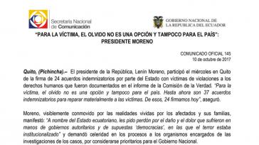 Das Abkommen regelt die Entschädigung der Opfer in Ecuador