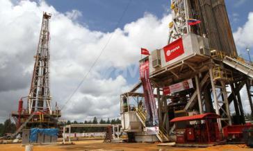 Erdölförderung im Orinoco-Gürtel in Venezuela