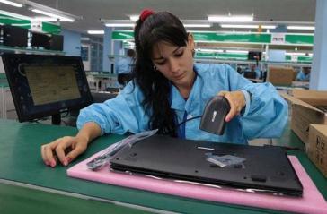 Seit Dezember letzten Jahres werden auf Kuba Laptops und Tablets montiert