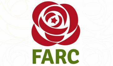 "Das Logo der neuen Partei ""Fuerza Alternativa Revolucionaria del Común"" (Farc)"