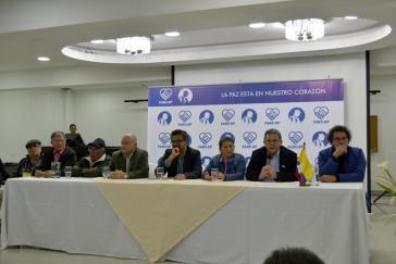 Auf einer Pressekonferenz des Plenums des Zentralen Generalstabs am 26. Juli verkündete die FARC-EP die Gründung einer neuen Partei am 1. September 2017