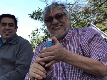 Fernando Lugo bei einer politischen Veranstaltung am 17. Juni in Paraguay