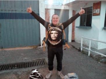 """Einer der freigelassen Farc-Guerilleros: """"Robinson"""" war 23 Jahre, einen Monat und 15 Tage im Gefängnis"""