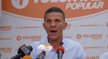 Gilber Caro von der Partei Voluntad Popular soll in Venezuela Terroraktionen geplant haben
