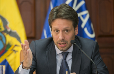 Ecuadors Außenminister Guillaume Long