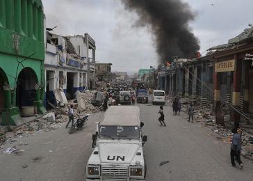Die UNO im Einsatz in Haiti