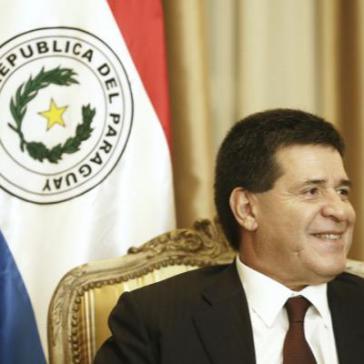 Verzichtet auf erneute Kandidatur: Paraguays amtierender Präsident Horacio Cartes