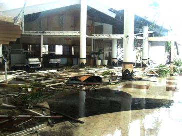 Das zerstörte Hotel Meliá Cayo Coco in Ciego de Ávila