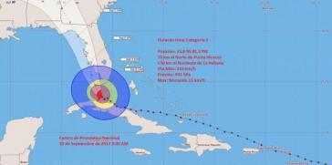 """Die Folgen des Hurrikans """"Irma"""" sind für die vorgelagerten Inseln und das Küstengebiet im Osten und Norden Kubas verheerend"""