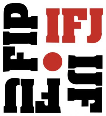 Logo der Internationalen Journalistenföderation