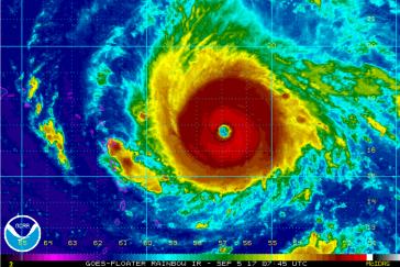 Anfang September zog der Hurrikan Irma durch die Karibik und zerstörte auch auf Kuba Teile der Infrastruktur und Gebäude