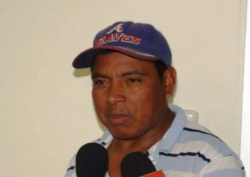 Wurde ermordet: José de los Santos Sevilla, Lehrer und führendes Gemeindemitglied der Tolupán-Gemeinschaft in Honduras